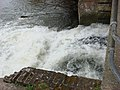 Waterfall, Sudbury Mill stream - geograph.org.uk - 733596.jpg
