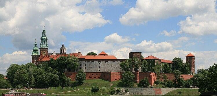 Castillo de Wawel - Wikipedia, la enciclopedia libre
