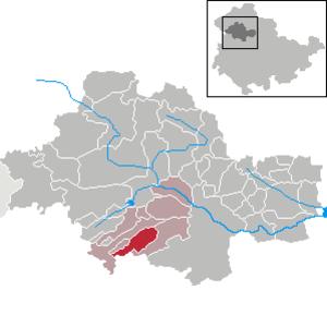 Weberstedt - Image: Weberstedt in UH