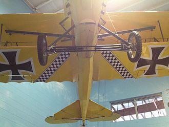 Kermit Weeks - Weeks' first homebuilt aircraft, the Der Jager D-IX