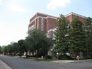 Tulane University Law School - John Giffen Weinmann Hall, Tulane University Law School's main building.