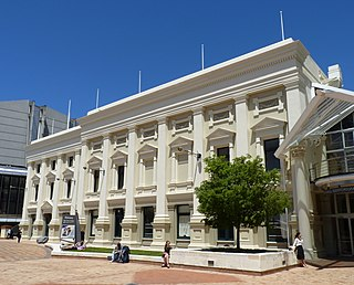 Wellington Town Hall concert hall and municipal complex in Wellington, New Zealand