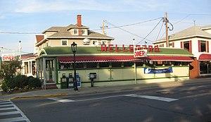Wellsboro Historic District - Image: Wellsboro Diner exterior