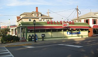 Wellsboro Historic District - Image: Wellsboro Diner exterior