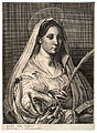 Wenceslas Hollar - St Catharine of Alexandria (State 1).jpg