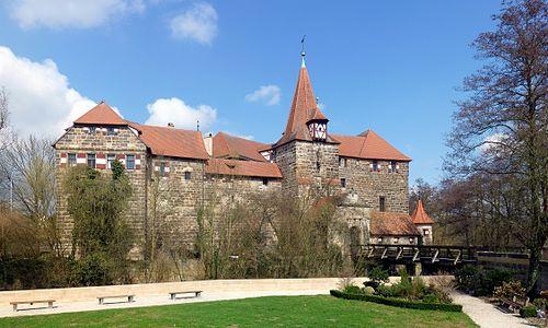 Wenzelschloss in Lauf an der Pegnitz, Germany