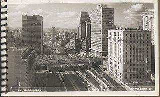 Avenida Anhangabaú - São Paulo - Brasil