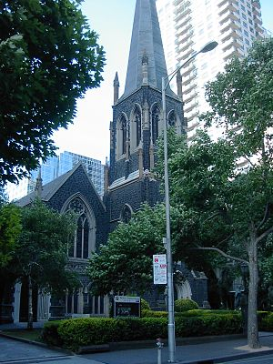 Wesley Church, Melbourne - Image: Wesleychurch