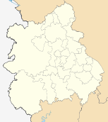 West Midlands districts 2011 map