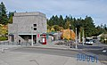 West head house and bus stop, Wash Park MAX stn.jpg