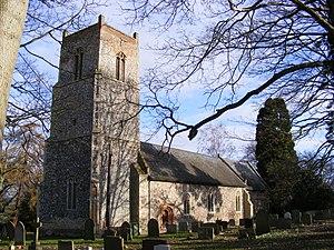 Weston, Suffolk - Image: Weston Church of St Peter
