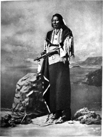 White Eagle, Head Chief of the Poncas, 1877.png