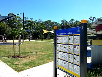 Camp Hill, Queensland - Playground in Whites Hill Reserve, Camp Hill