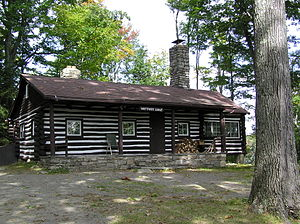 Palmyra Township, Pike County, Pennsylvania - Whittaker Lodge at Promised Land State Park