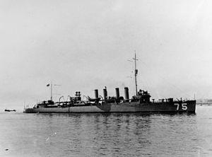 Wickes-class destroyer - Image: Wickes dd 75