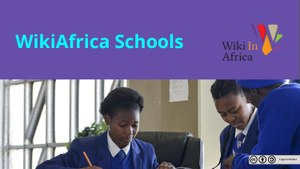 The final presentation (that evolved) over the three events of the WikiAfrica Schools Collaboratory held in Cape Town at the end of 2017, and in March 2018
