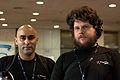 Wikimania 2009 - Miguel Rios y Cristian Bruscella.jpg