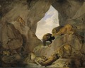 Wild Animals in a Mountain Gorge (Carl Ruthart) - Nationalmuseum - 17240.tif