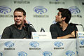 Will Poulter & Dylan O'Brien (13925905502).jpg