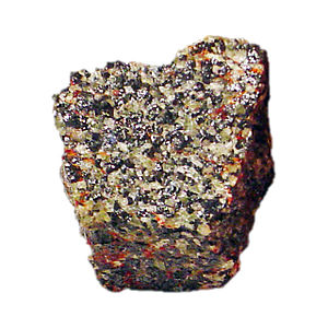 Willemite - Willemite with franklinite from New Jersey
