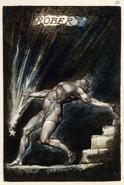 File:William Blake Milton poem Plate 33 copy B 1811 Huntington.jpg