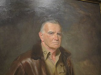 William Halsey Jr. - Admiral Halsey as he appears at the National Portrait Gallery in Washington, D.C.