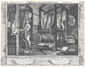 William Hogarth - Industry and Idleness, Plate 1; The Fellow 'Prentices at their Looms.png