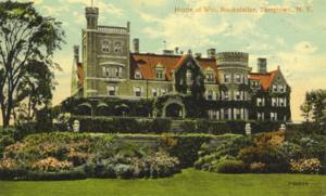 William Rockefeller - Rockwood - William Rockefeller home in Tarrytown, NY