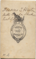 William Shakespeare Hall portrait (verso).png
