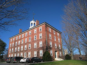 Delta Upsilon - Delta Upsilon's mother chapter was founded in 1834 in the West College building (pictured) at Williams College.