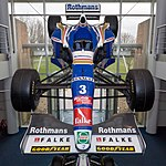 Williams FW19 front 2017 Williams Conference Centre.jpg