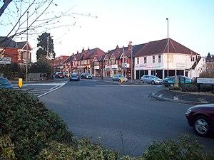 Bassett, Southampton - Image: Winchester Road shops geograph.org.uk 1715704