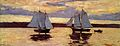 Winslow Homer - Mackerel Fleet at Dawn 1 (1884).jpg