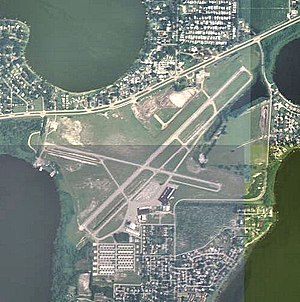 Winter Haven's Gilbert Airport - 2006 USGS airphoto