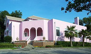 Woman's Club of Winter Haven - Image: Winter Haven Womans Club pano 01