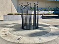 Witnessing to Silence, 2004 sculpture by Fiona Foley, Brisbane 02.jpg