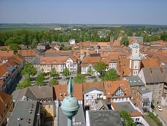 Wittstock - Town centre