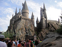 Hogwarts from the Harry Potter franchise