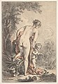 Woman With Drapery and a Putto (Venus and Cupid?) MET DP826400.jpg