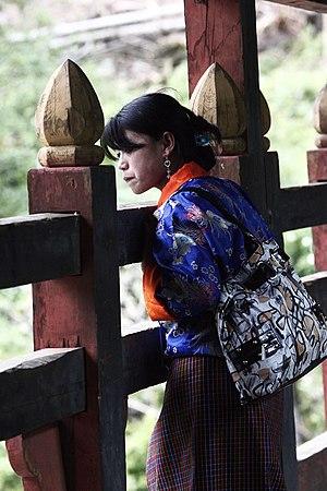 Women in Bhutan - Woman in Bhutan, 2011