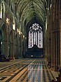 Worcester Cathedral Nave and West window - geograph.org.uk - 274065.jpg