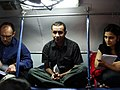 Work, notes and dinner on the BBC Indian Election Express train (3534968183) (2).jpg