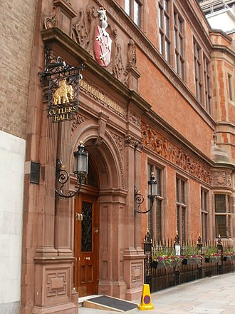 Worshipful Company of Cutlers - Image: Worshipful Company of Cutlers