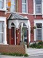 Wrought iron porch, Seven Kings.jpg