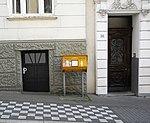 Wuppertal, Gronaustr. 58 + 60, Eingänge.jpg