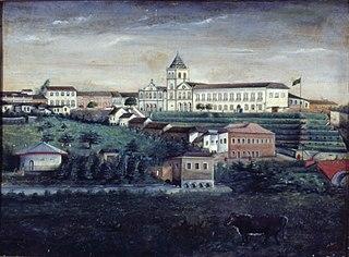 Convento e Várzea do Carmo, 1870