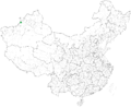 Xibe autonomous prefectures and counties in China.png