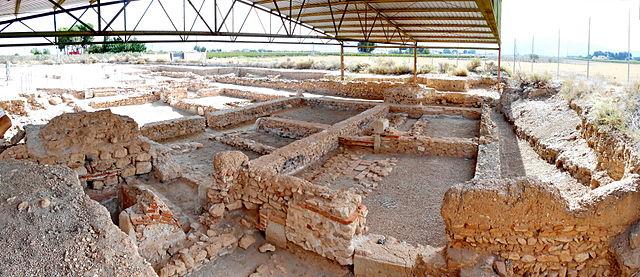 Yacimiento romano los Torrejones. Yecla. Murcia