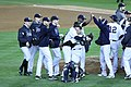 Yankees celebrate ALDS Game 5 victory 10-12-12 (6).jpeg