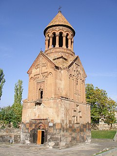 Holy Mother of God Church, Yeghvard cultural heritage monument of Armenia